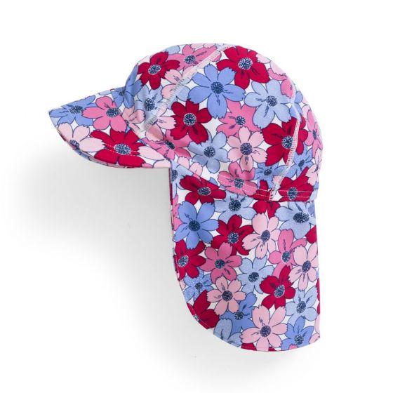 Gorra de Protección Solar Bebé y Niña Flamencos