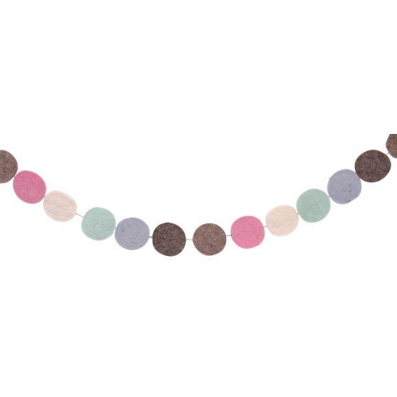 Guirnalda de Rondos Multicolores