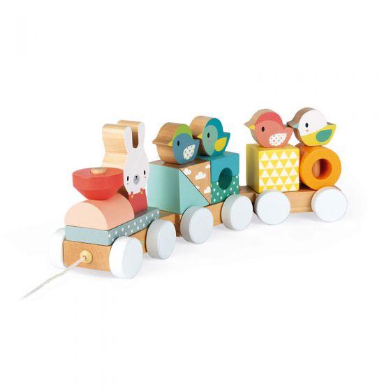 Janod Pure Train , juguete de madera