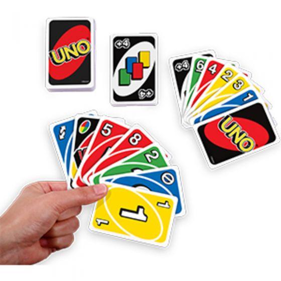 Juego de cartas Uno clásico , Mattlel