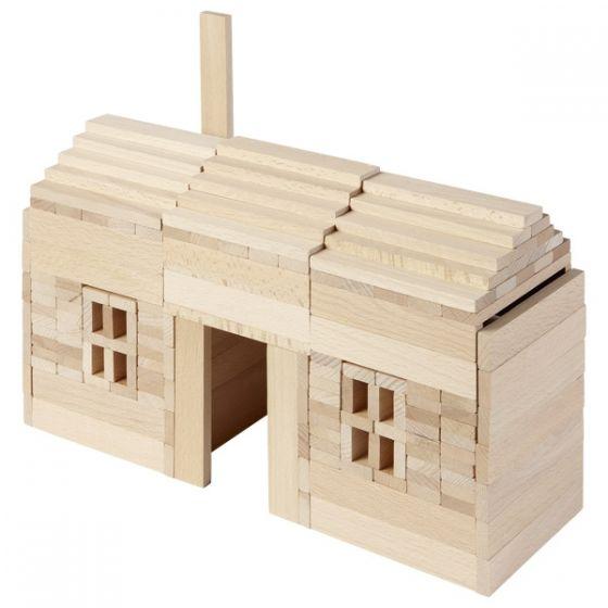 Juego de construcción Goki Nature - 200 piezas