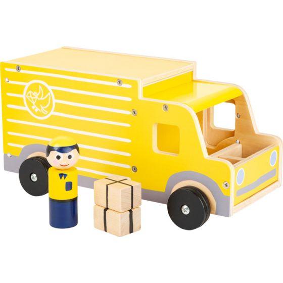 Camión de reparto de madera