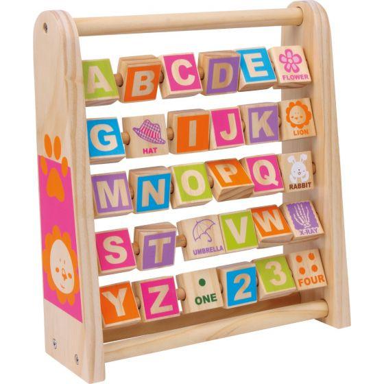 Juguete Educativo de madera - Aprende Inglés
