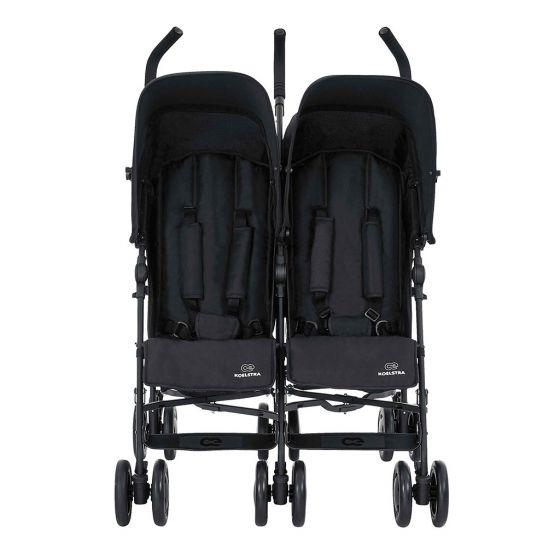 Koelstra Simba Twin T4 - Silla de Paseo Gemelar negro