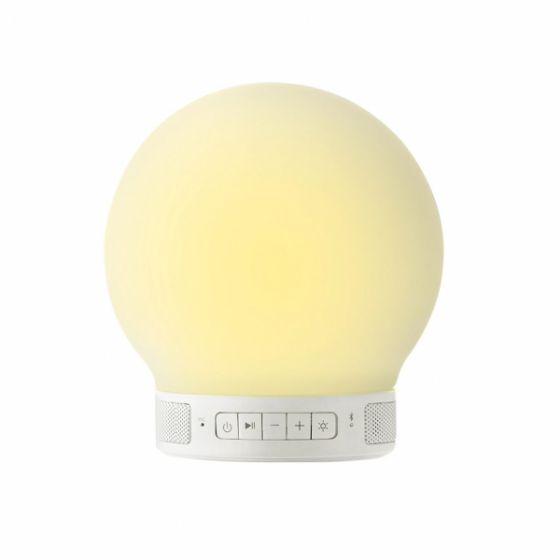 Lámpara Redonda y Altavoz Bluetooth - Emoi