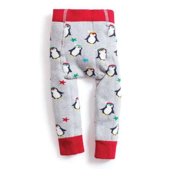 Leggings Niño Gruesos Estampado Pingüino