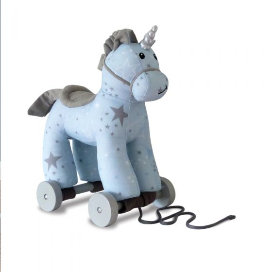 Moonbeam Unicornio con Ruedas y Cuerda