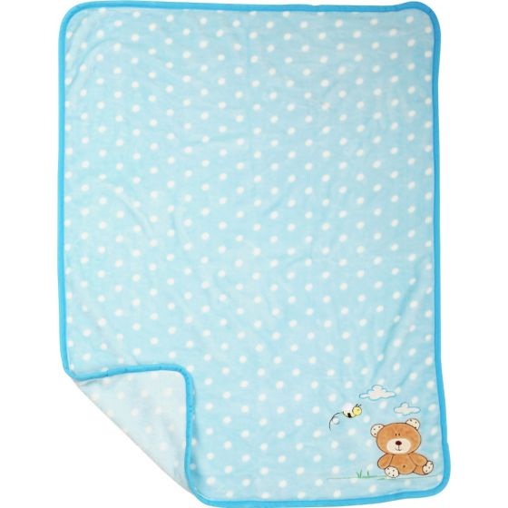 Mantita para Bebé Oso - 100 x 80 cm
