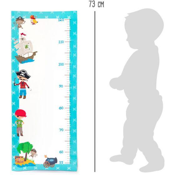 Vinilo de pared para medir niños