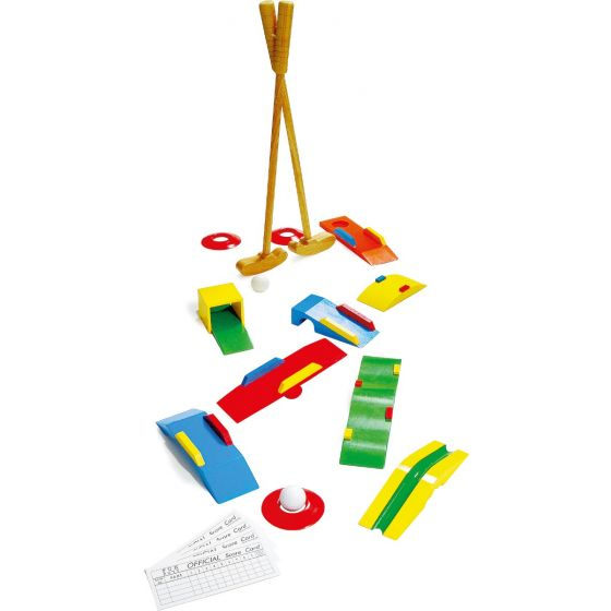 minigolf para niños
