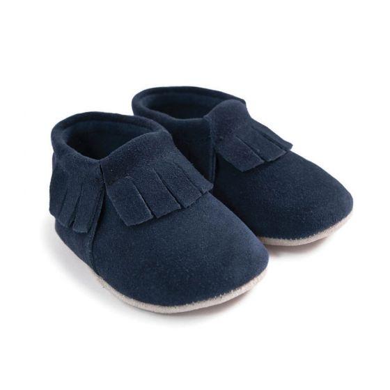 Mocasines para Bebé azules
