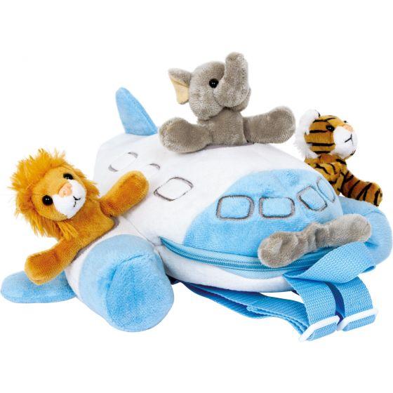 Mochila de tela Infantil Animales Pilotos