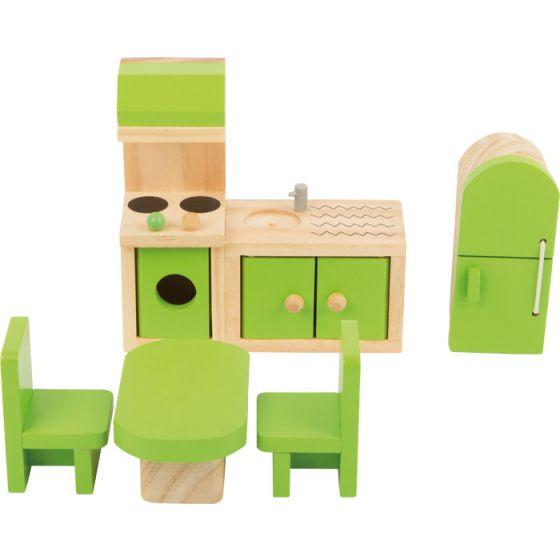 Muebles de cocina para casita de muñecas