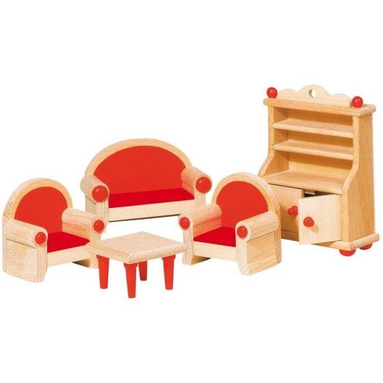 Muebles para salón de casa de Muñecas , Goki