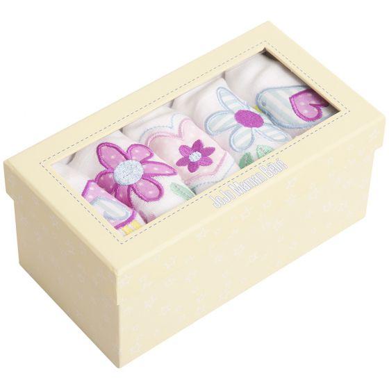 Muselinas para Bebés con Estampado de flores.