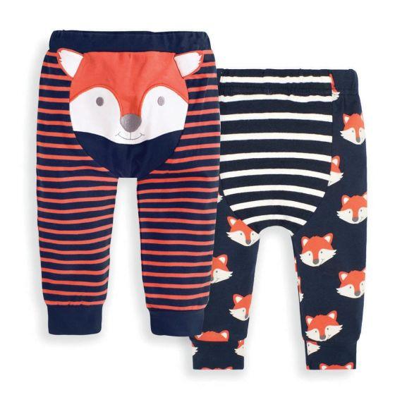 Pack de 2 Leggings para Bebés Estampado Zorrito