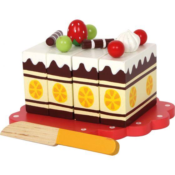 Pastel de Cumpleaños, juguete para Aprender a cortar