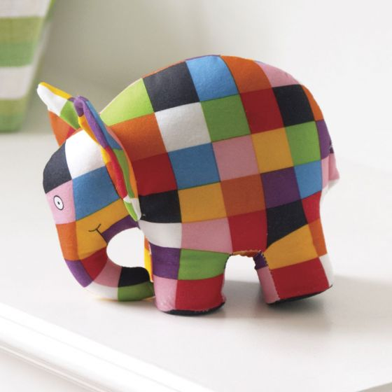 Peluche Elmer el elefante