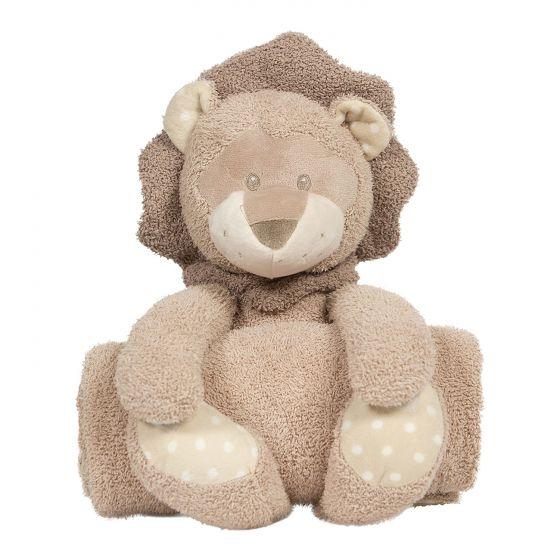 Peluche con Manta Kenzi el León - Bo Jungle