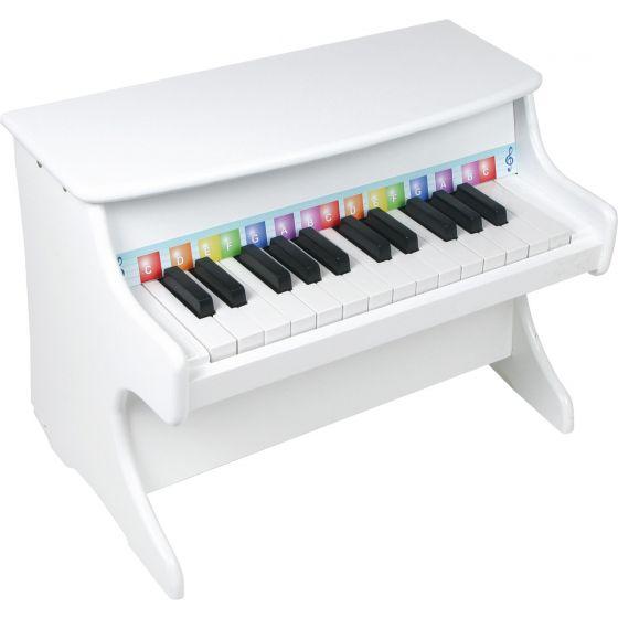 Piano de Juguetes para Niños en color Blanco - Legler