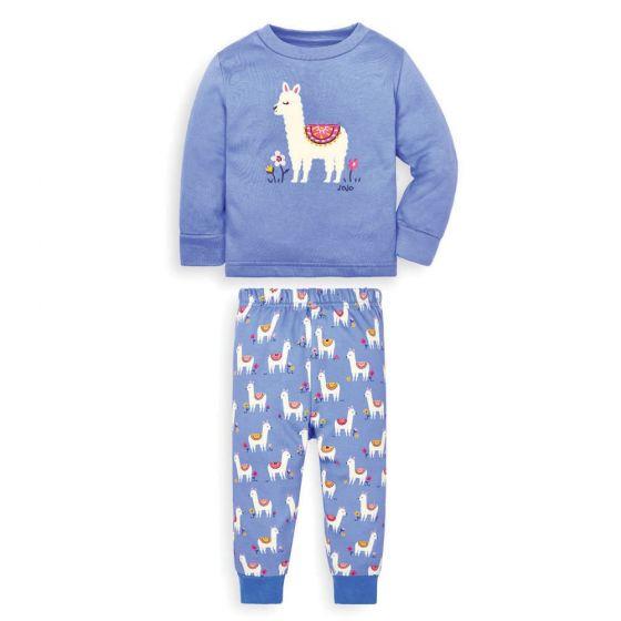 Pijama Niño Llama Brilla en la Oscuridad