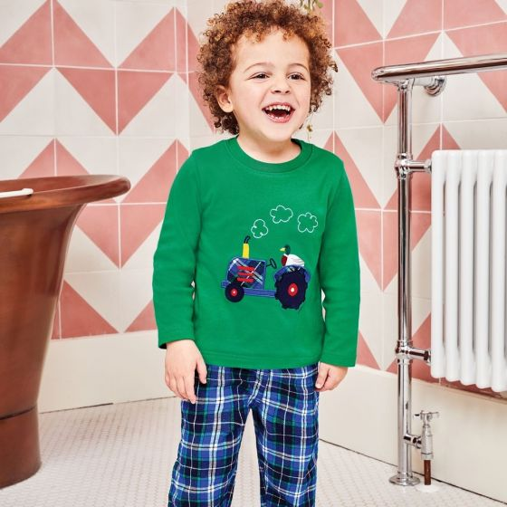 Pijama para Niño Tractor - Manga Larga