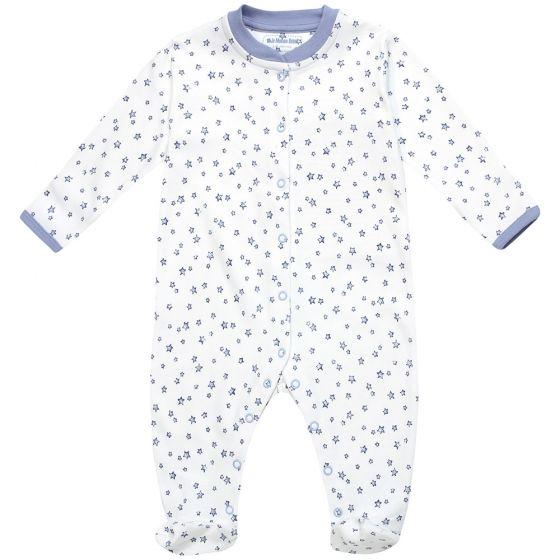 Pijama para Bebé con Estampado de Estrellas Azules