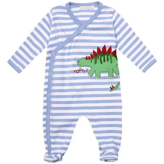 Pijama para Bebés Estampado Dinosaurio Verde