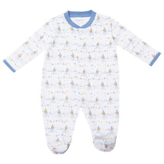Pijama Bebé Estampado Barcos Veleros