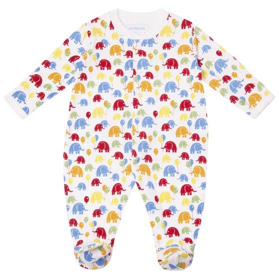 Pijama Bebé Elefantes de Colores
