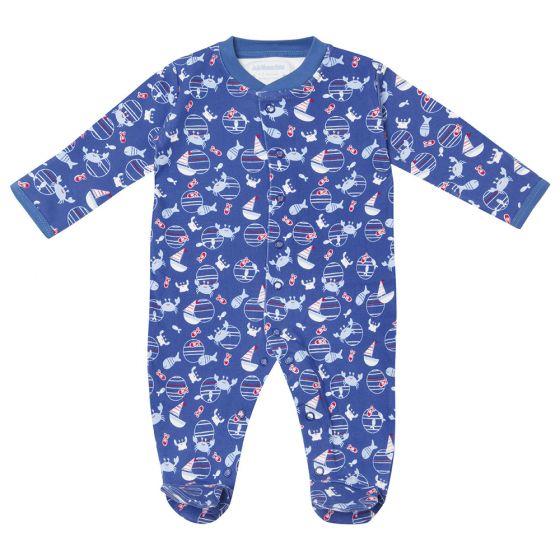 Pijama para  Bebé de algodón con estampado Naútico