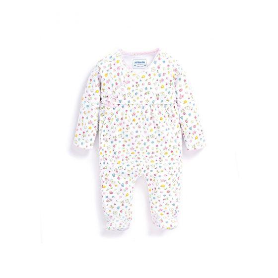 Pijama Bebé Estampado Retro Floral
