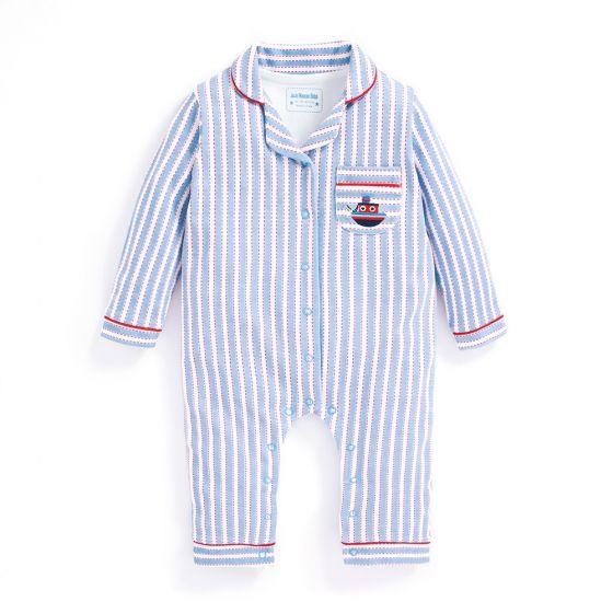 Pijama para Bebés Rayas Náuticas