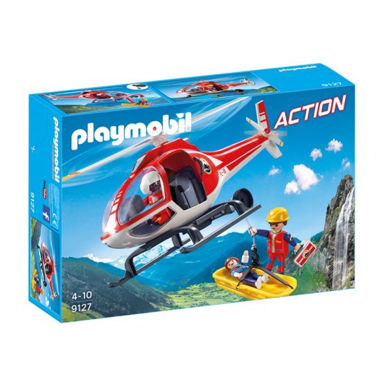 Playmobil - Helicóptero de Rescate de Montaña