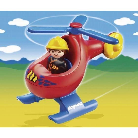 Playmobil 1.2.3 - Helicóptero de rescate