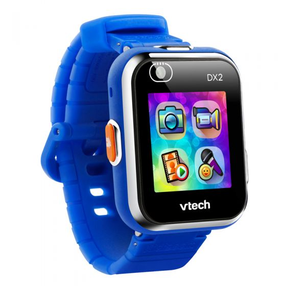 VTech Kidizoom Smart Watch DX2 - Reloj Inteligente para niños, versión Inglesa color azul