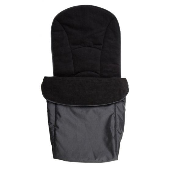 Saco Cubrepies Universal para Silla de Paseo y Cochecito Bebé color negro