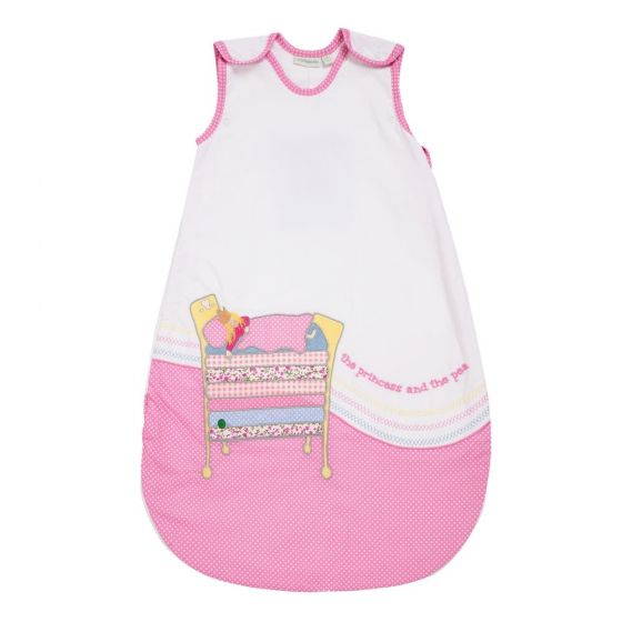 Saco de dormir para Bebés de 1.5 Tog en color rosa