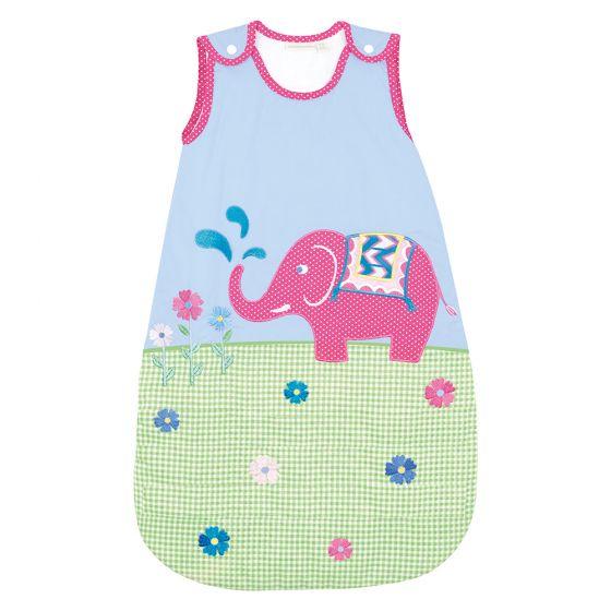 Saco de dormir para Bebés de 2.5 Tog con estampado elefante