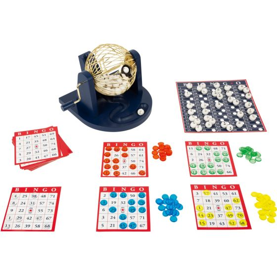 Set de bingo con bombo