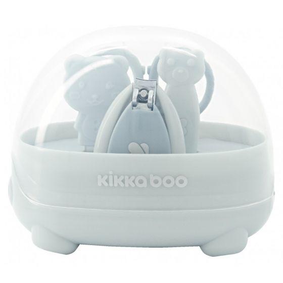 Set de Manicura para Bebés Oso azul, Kikkaboo
