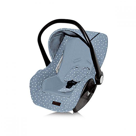 Silla de Coche Grupo 0+ (0 - 13 kilos ) Dotty - Kikkaboo azul