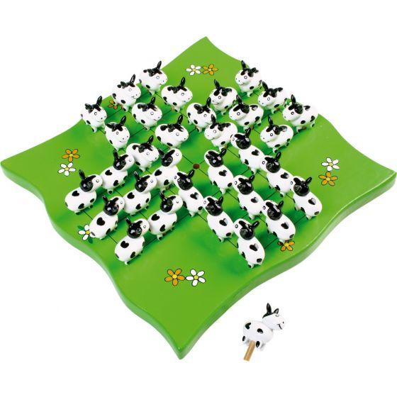 Solitario Vacas - Juego de madera