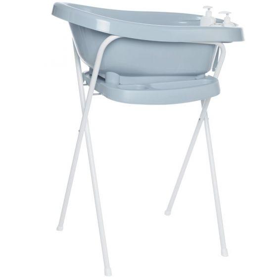 Set de Bañera Thermobath Fabulous con Soporte Celestial Blue