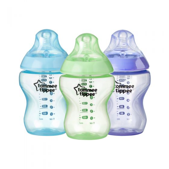 Biberones 260 ml Colour My World azul Tommee Tippee