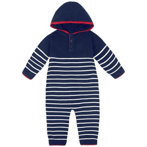 Traje Entero Para Bebé en color  Navy
