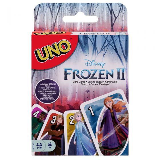 Uno juego de cartas Frozen 2