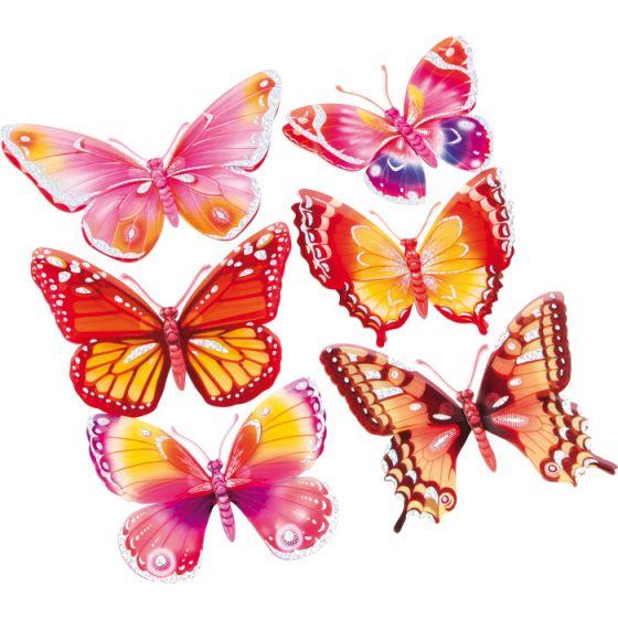 Vinilo Mariposas de colores