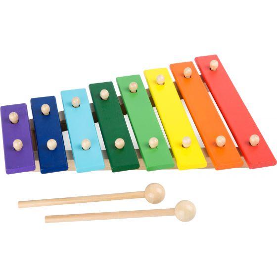 Xilófono colorido
