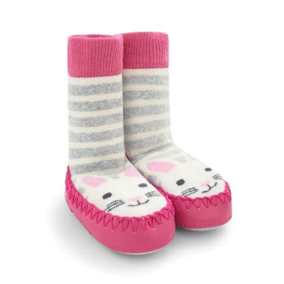 Zapatillas de casa Calcetín para Niña diseño conejito